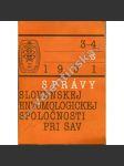 Správy Slovenskej entomologickej spol., 3-4/1991 - náhled