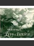 Leto v Tatrách - náhled