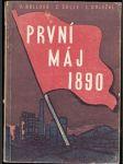 První máj 1890 - kol. autorů - náhled