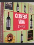 Červená vína Evropy - náhled