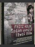 Fritz Kolbe Špion uvnitř Třetí říše - náhled
