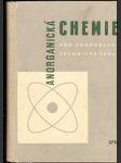 Anorganická chemie pro zemědělské školy - kol. autorů - náhled