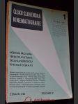 Česko-slovenská kinematografie : 1 - 12 - náhled