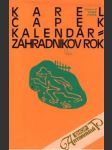 Kalendár, Záhradníkov rok - náhled
