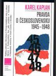 Pravda o československu 1945 - 1948 - náhled