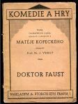 Doktor Faust - náhled