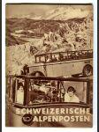 Schweizerische Alpenposten - náhled