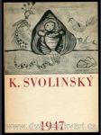 K. Svolinský - Malby a kresby Karla Svolinského - katalog - náhled