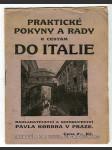 Praktické pokyny k cestám do Italie - náhled