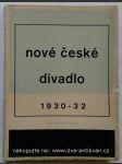 Nové české divadlo 1930-1932 - náhled