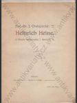 Heinrich Heine (Studie medicinská i literární) - náhled