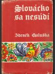 Slovácko sa nesúdí - náhled