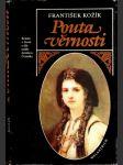 Pouta věrnosti - román o životě a díle malíře Jaroslava Čermáka - náhled