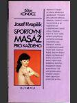 Sportovní masáž pro každého - náhled