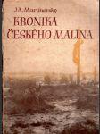Kronika Českého Malína - náhled
