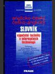 Anglicko-český a česko-anglický slovník výpočetní techniky a informačních technologií - náhled