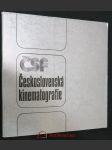 Československá kinematografie - náhled