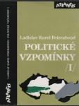 Politické vzpomínky I. - náhled