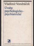 Úvahy psychologicko-psychiatrické - náhled