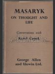 Masaryk On thought and life / Conversations with Karel Čapek - náhled