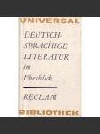 Deutsch-Sprachige Literatur im Überblick - náhled