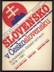 Slovensko v Československu - Slovensko-české vztahy 1918-1991 - náhled