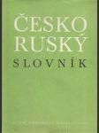 Česko - ruský slovník - náhled