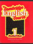 The cambridge english course 1., students book - náhled