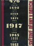 Světové dějiny v datech - I. - náhled