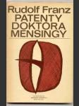 Patenty doktora mensingy - náhled