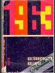 Kultúrno - politický kalendár 1963 - náhled