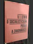 V.I. Lenin o socialistickém právu a zákonnosti - náhled