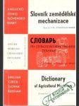 Slovník zemědělské mechanizace - náhled