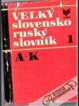 Veľký slovensko - ruský slovník 1. A - K - náhled