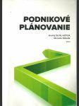 Podnikové plánovanie - náhled