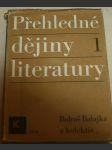 Přehledné dějiny literatury I. - náhled