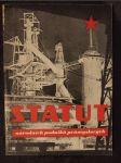 Statut národních podniků průmyslových - náhled