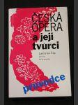 Česká opera a její tvůrci : průvodce - náhled