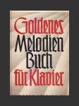Goldenes Melodien Buch für Klavier - náhled