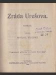 Zrada Urešova - Rom - náhled