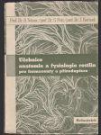 Učebnice anatomie a fysiologie rostlin pro farmaceuty a přírodopisce - náhled