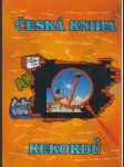 Česká kniha rekordů - náhled