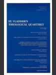 St. Vladimirs theological Quarterly. Liturgy - náhled