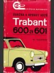 Údržba a opravy vozů Trabant 600 a Trabant 601 - náhled