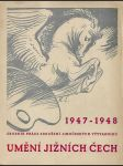 Sborník - Umění jižních Čech 1947-1948 - náhled