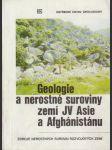 Geologie a nerostné suroviny zemí JV Asie a Afghánistánu - náhled