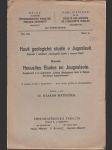 Nové geologické studie v Jugoslavii - doplněk k publikaci Geologické studie v severní Adrii - náhled