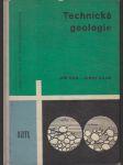 Technická geologie - učební text pro 4. roč. průmyslových škol geologických - náhled