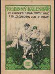 Rodinný kalendář Republikánské strany zemědělského a malorolnického lidu i domovin 1933 - náhled