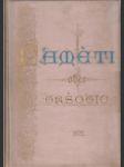 Paměti obce Vršovické u Prahy vydané na oslavu povýšení obce této na město r. 1902 - náhled